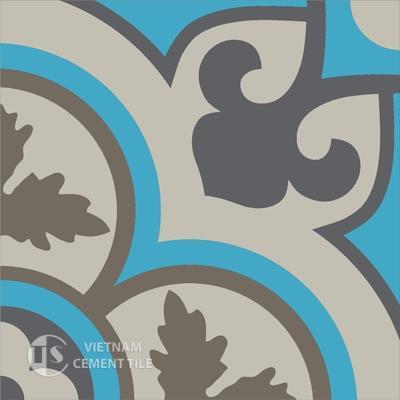 Gạch bông CTS 129.4(16-27-28-32) - Encaustic cement tile CTS 129.4(16-27-28-32)