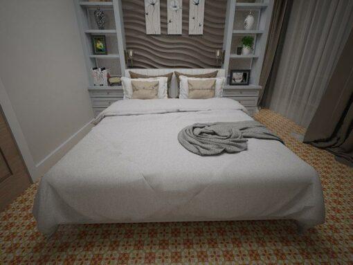 Gạch bông cts 20.2 lát nền phòng ngủ