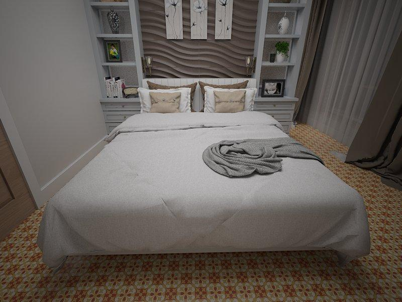 Gạch bông cổ điển cho phòng ngủ