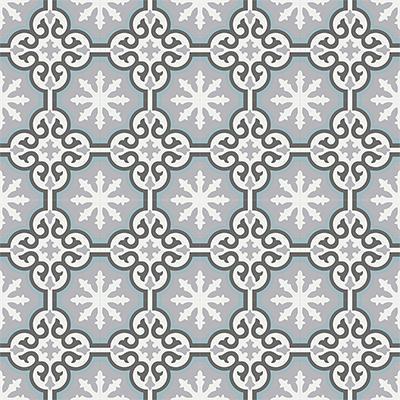 Gạch bông CTS 1.36(4-9-13-29) - 16 viên - Encaustic cement tile CTS 1.36(4-9-13-29)-16 tiles