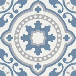 Gạch bông CTS 112.2(1-4-9) - 4 viên - Encaustic cement tile CTS 112.2(1-4-9)-4 tiles