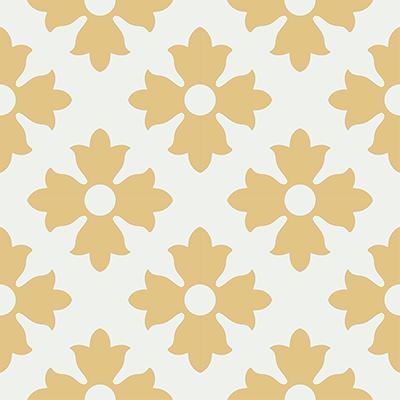 Gạch bông CTS 114.2(4-6) - 4 viên - Encaustic cement tile CTS 114.2(4-6)-4 tiles