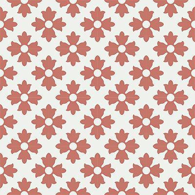 Gạch bông CTS 114.4(4-5) - 16 viên - Encaustic cement tile CTS 114.4(4-5)-16 tiles