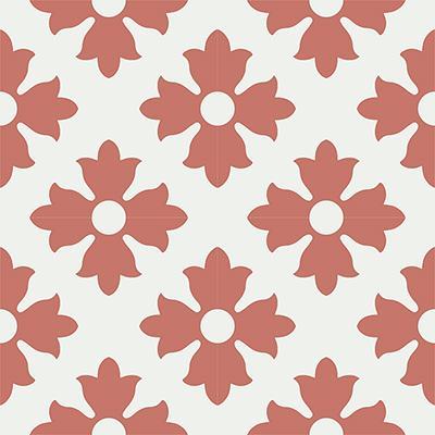 Gạch bông CTS 114.4(4-5) - 4 viên - Encaustic cement tile CTS 114.4(4-5)-4 tiles