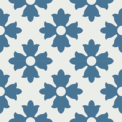 Gạch bông CTS 114.6(1-4) - 4 viên - Encaustic cement tile CTS 114.6(1-4)-4 tiles