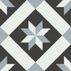 Gạch bông CTS 12.6(4-13-50) - 4 viên - Encaustic cement tile CTS 12.6(4-13-50)-4 tiles