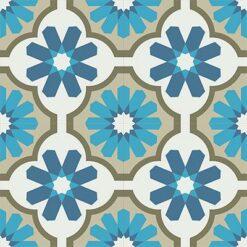 Gạch bông CTS 16.8(1-4-9-16-54) - 4 viên - Encaustic cement tile CTS 16.8(1-4-9-16-54) - 4 tiles