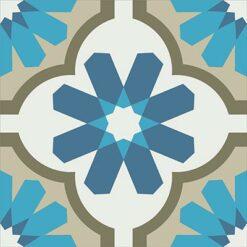 Gạch bông CTS 16.8(1-4-9-16-54) - Encaustic cement tile CTS 16.8(1-4-9-16-54)