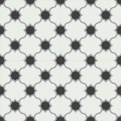Gạch bông CTS 168.2(4-9-13) - 4 viên - Encaustic cement tile CTS 168.2(4-9-13)-4 tiles