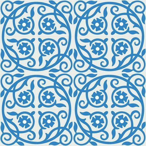 Gạch bông CTS 21.3(4-8) - 16 viên - Encaustic cement tile CTS 21.3(4-8)-16 tiles