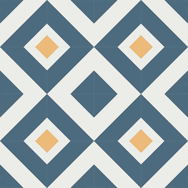 Gạch bông CTS 235.1(1-4-6) - 16 viên - Encaustic cement tile CTS 235.1(1-4-6) - 16 tiles