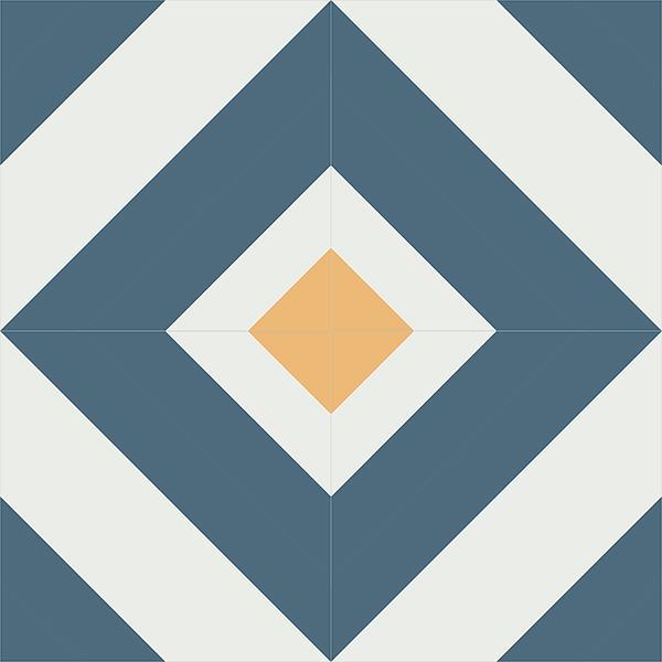 Gạch bông CTS 235.1(1-4-6) - 4 viên - Encaustic cement tile CTS 235.1(1-4-6) - 4 tiles