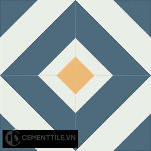 Gạch bông CTS 25.2(1-4-6) - 4 viên - Encaustic cement tile CTS 25.2(1-4-6)-4 tiles