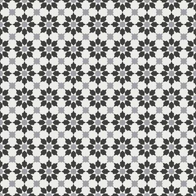 Gạch bông CTS 3.17(4-9-13) - 16 viên - Encaustic cement tile CTS 3.17(4-9-13) - 16 tiles