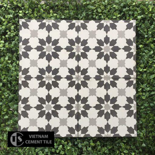 Gạch bông CTS 3.17(4-9-13) - Encaustic cement tile CTS 3.17(4-9-13)