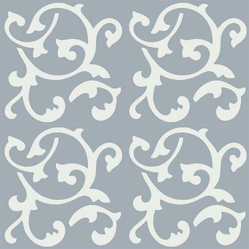 Gạch bông CTS 32.3(4-50) - 4 viên - Encaustic cement tile CTS 32.3(4-50)-4 tiles