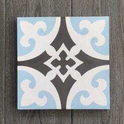 Gạch bông CTS 4.5(2-4-13) - Encaustic cement tile CTS 4.5(2-4-13)