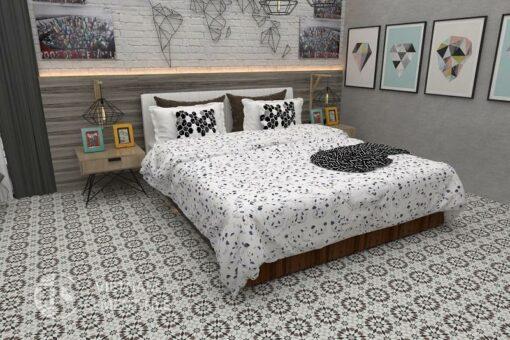 Gạch bông cts 56.2 trang trí phòng ngủ