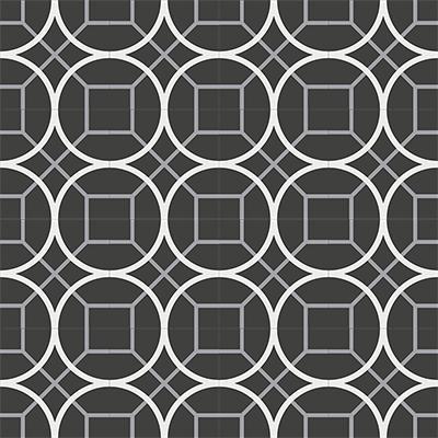 Gạch bông CTS 58.2(4-9-13) - 16 viên - Encaustic cement tile CTS 58.2(4-9-13)-16 tiles