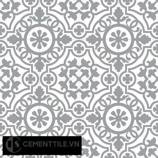 Gạch bông CTS 60.4(4-9) - 16 viên - Encaustic cement tile CTS 60.4(4-9)-16 tiles