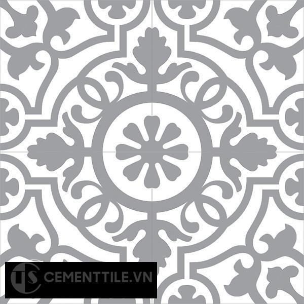 Gạch bông CTS 60.4(4-9) - 4 viên - Encaustic cement tile CTS 60.4(4-9)-4 tiles