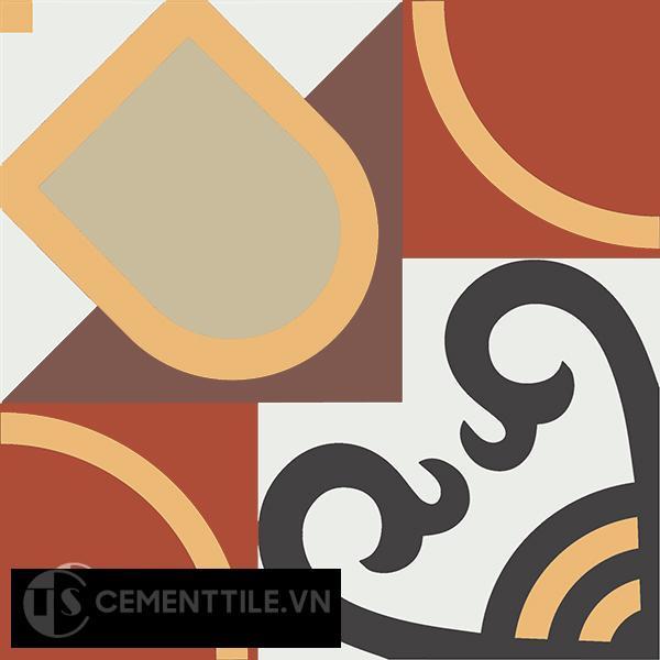 Gạch bông CTS 83.2(4-6-13-30-52-60) - Encaustic cement tile CTS 83.2(4-6-13-30-52-60)
