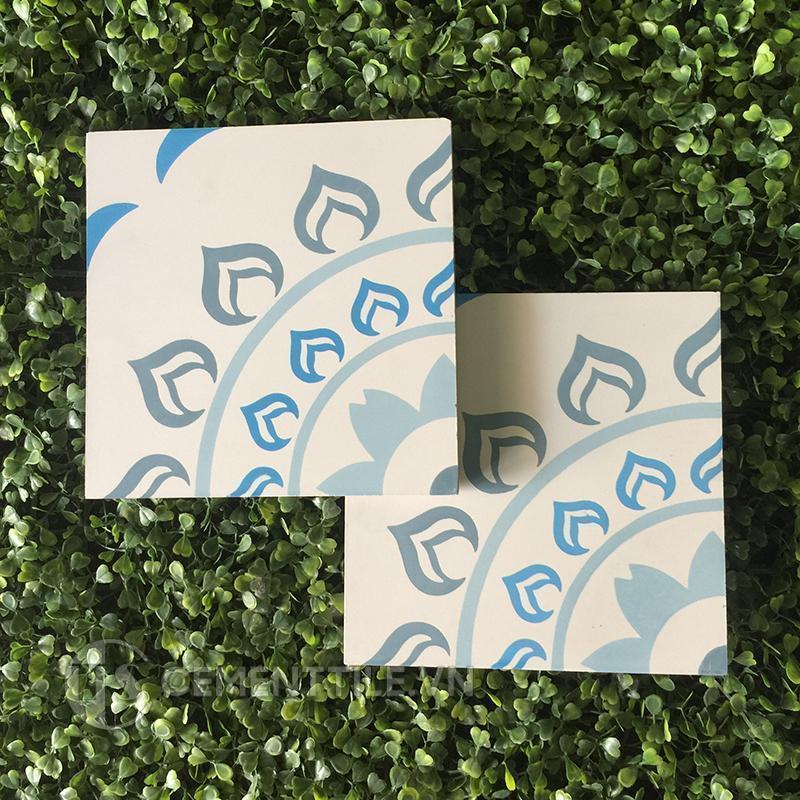 Gạch bông CTS 90.1(2-4-8-51) - Encaustic cement tile CTS 90.1(2-4-8-51)