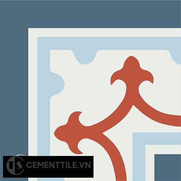 Gạch bông CTS C101.6(1-2-4-5) - Encaustic cement tile CTS C101.6(1-2-4-5)