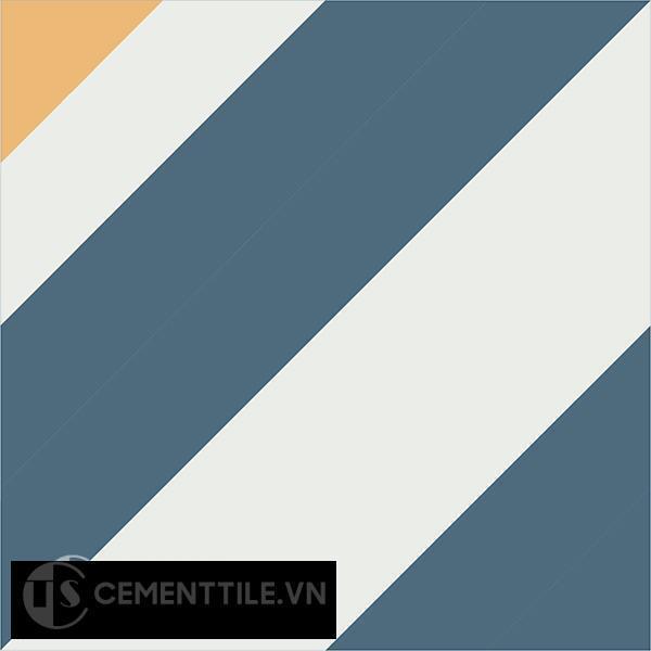 Gạch bông CTS 25.2(1-4-6) - Encaustic cement tile CTS 25.2(1-4-6)