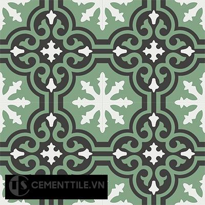 Gạch bông CTS 1.24(4-7-13) - 4 viên - Encaustic cement tile CTS 1.24(4-7-13)-4 tiles