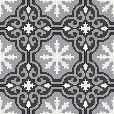 Gạch bông CTS 1.15(4-9-13) - 4 viên - Encaustic cement tile CTS 1.15(4-9-13)-4 tiles.