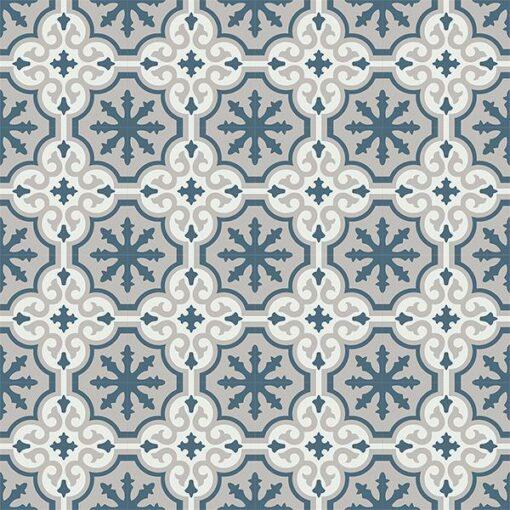 Gạch bông CTS 1.16(1-4-9) - 16 viên - Encaustic cement tile CTS 1.16(1-4-9)-16 tiles