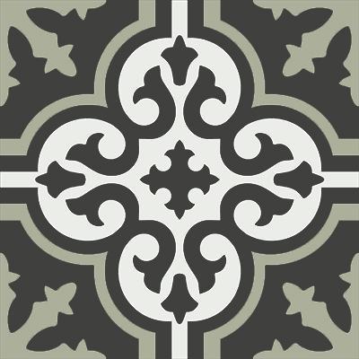 Gạch bông CTS 1.19(4-13-48) - Encaustic cement tile CTS 1.19(4-13-48)