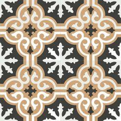 Gạch bông CTS 1.26(4-11-13) - 4 viên - Encaustic cement tile CTS 1.26(4-11-13)-4 tiles