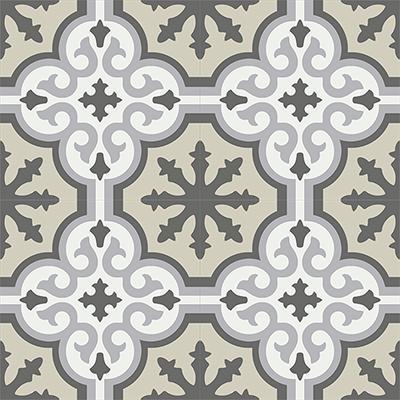Gạch bông CTS 1.33(4-9-12-13) - 4 viên - Encaustic cement tile CTS 1.33(4-9-12-13)-4 tiles