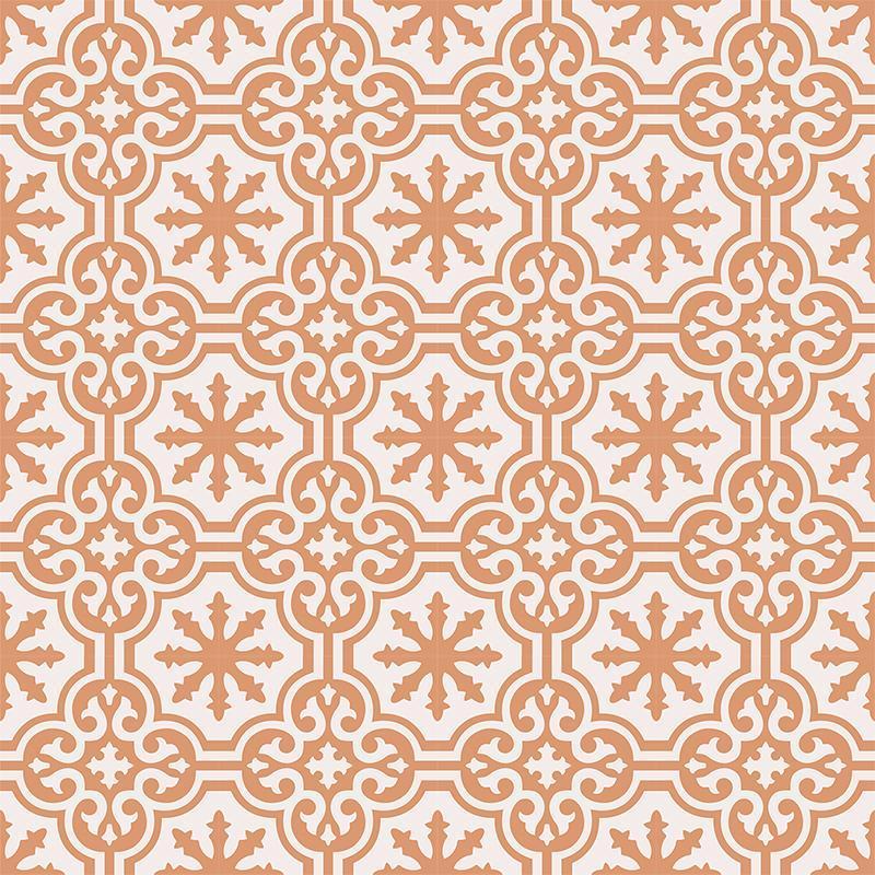 Gạch bông CTS 1.34(4-37) - 16 viên - Encaustic cement tile CTS 1.34(4-37)-16 tiles