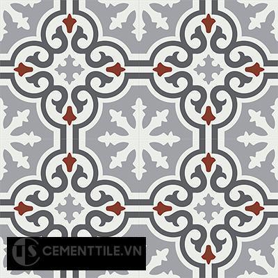 Gạch bông CTS 1.38(4-9-30-32) - 4 viên - Encaustic cement tile CTS 1.38(4-9-30-32)-4 tiles