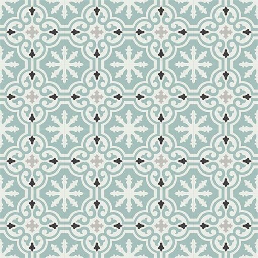 Gạch bông CTS 1.39(4-9-13-143) - 16 viên - Encaustic cement tile CTS 1.39(4-9-13-143)-16 tiles