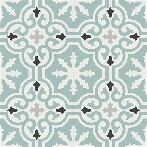 Gạch bông CTS 1.39(4-9-13-143) - 4 viên - Encaustic cement tile CTS 1.39(4-9-13-143)-4 tiles