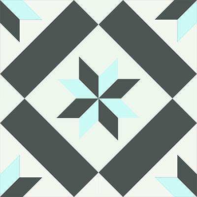 Gạch bông CTS 11.3(2-4-13) - Encaustic cement tile CTS 11.3(2-4-13)
