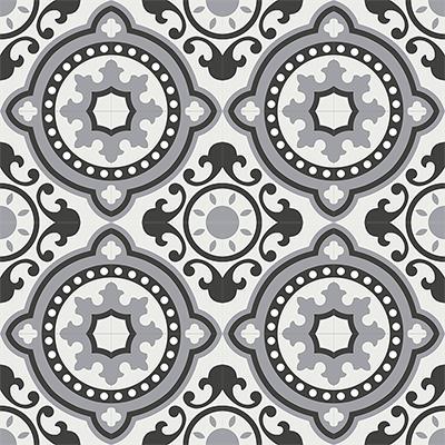 Gạch bông CTS 112.3(4-9-13) - 16 viên - Encaustic cement tile CTS 112.3(4-9-13)-16 tiles