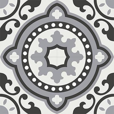 Gạch bông CTS 112.3(4-9-13) - 4 viên - Encaustic cement tile CTS 112.3(4-9-13)-4 tiles