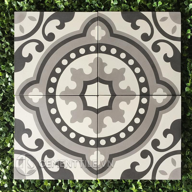 Gạch bông CTS 112.3(4-9-13) - Encaustic cement tile CTS 112.3(4-9-13)