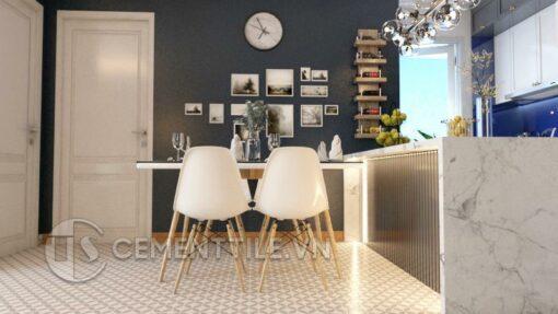 Gạch bông CTS 117.2 trang trí nhà bếp
