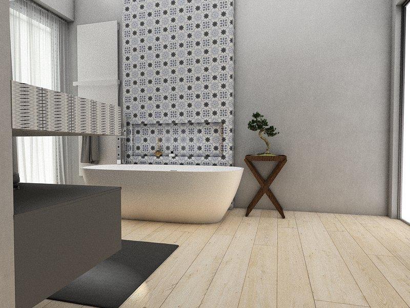 Gạch bông cts 138.1 trang trí nhà tắm
