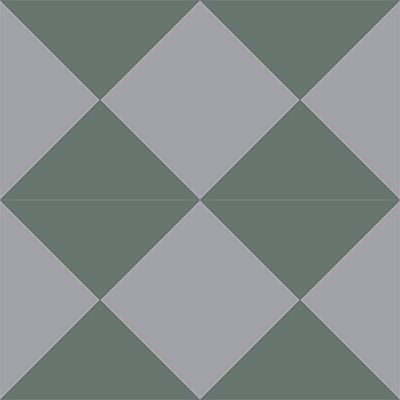 Gạch bông CTS 14.6(3-9) - 4 viên - Encaustic cement tile CTS 14.6(3-9)-4 tiles