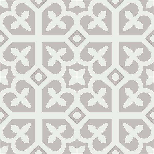 Gạch bông CTS 142.1(4-9) - 4 viên - Encaustic cement tile CTS 142.1(4-9)-4 tiles