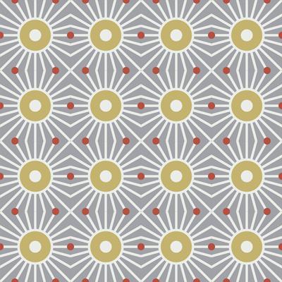 Gạch bông CTS 161.1(4-5-129) - 16 viên - Encaustic cement tile CTS 161.1(4-5-129)-16 tiles
