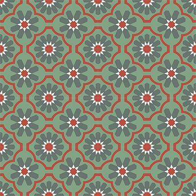 Gạch bông CTS 16.7(3-4-5-7) - 16 viên - Encaustic cement tile CTS 16.7(3-4-5-7)-16 tiles