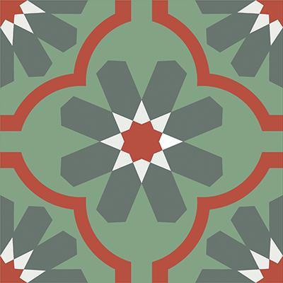 Gạch bông CTS 16.7(3-4-5-7) - Encaustic cement tile CTS 16.7(3-4-5-7)